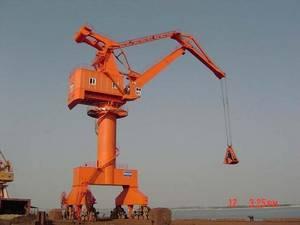 Wholesale harbor portal crane: Double Jib Level Luffing Crane