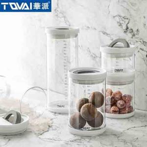 Wholesale food storage: Tqvai Borosilicate Glass Jar Airtight Milk Powder Storage Jar Food Storage Jar
