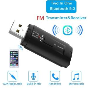 Wholesale Car Audio: Hot Sale USB Car Bluetooth Receiver and FM Transmitter