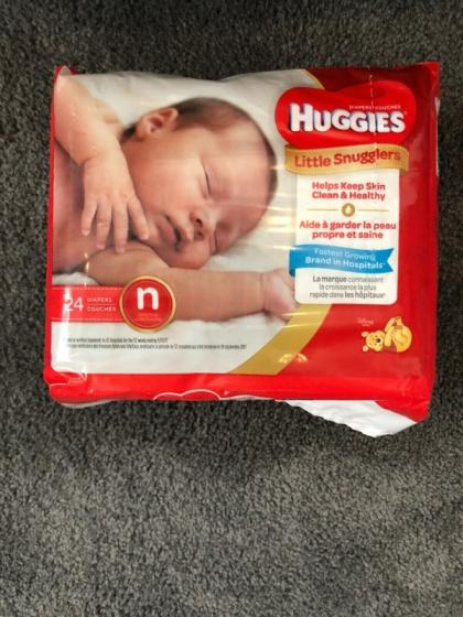 Sell Pampers Baby Huggies Dry Diapers Size 2 (308 Count)