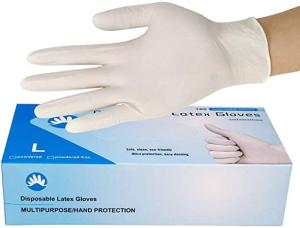 Wholesale glove: Blue Examination Disposable Vinyl PVC Nitrile Latex Hand Gloves
