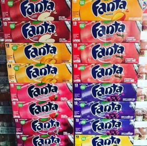 Wholesale blueberry: All Flavors American Fanta Blueberry/Cherry/Fruit Punch/Strawberry