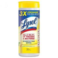 Lysol Disinfecting Wipes Lemon LIME35.0sheet