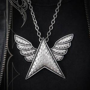 Wholesale necklace: Mens Metal Necklace SN12-154