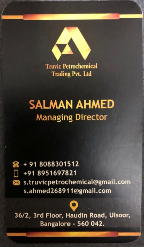 Truvic Petrochemicals Trading Pvt. Ltd