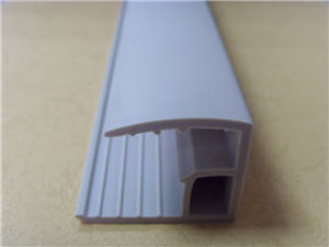 Wholesale Plastic Product Making Machinery: PVC Extrusion Profile for White Board Frame
