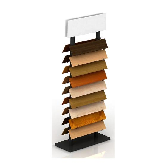 Sell WD603 Double Side Metal Display Rack For wood Flooring