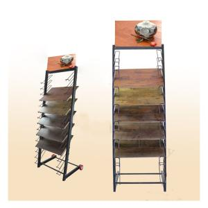 Wholesale wood floor: WD612 Wood Flooring Display Stands for Promotion