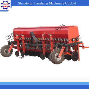 Wholesale seeder: Agricultural Equipment,24 Rows Seed Planter/ Wheat Seeder with Fertilizer Drilling for Tractor