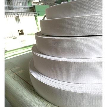 Sell 4.5cm Customized Knit Polyester Spandex elastic tape