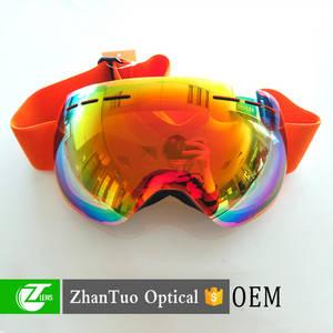 Wholesale Skiing: Outdoor Sports Safety Ski Sports Goggle Racing Ski Goggles with Logo