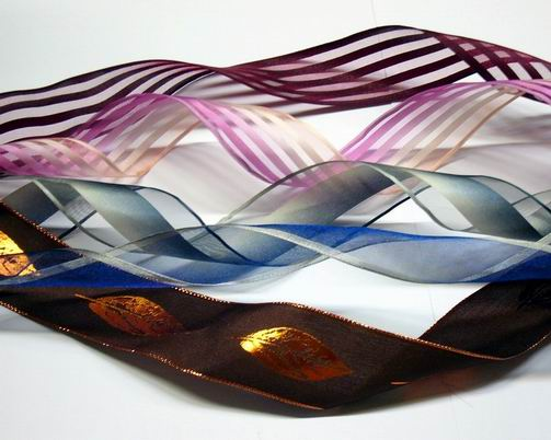 Sheer organza ribbon