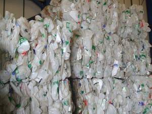 Wholesale HDPE: HDPE Milk Bottle Baled Scrap