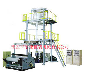 Wholesale pe film blowing machine: SJ50 Series PE High and Low-pressure Blowing Film Machine