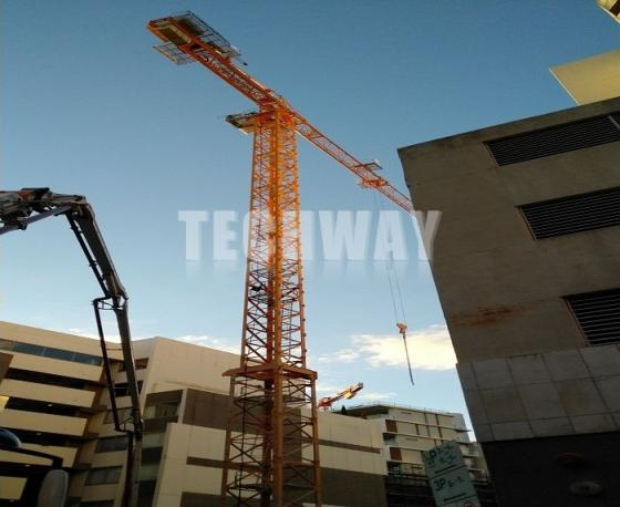 Sell Flat Top Tower Crane