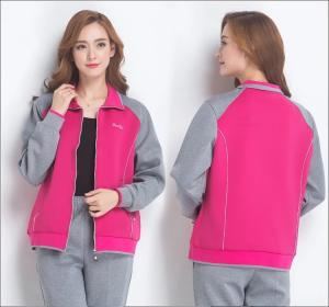 Wholesale women jackets: The New Mom Spring Autumn Jacket Jacket Middle-aged Women Casual Thin Style Hoodie Large Size Sports