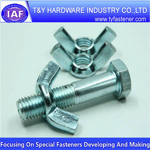 Wholesale wing nuts: Wing Nuts Bolt Screw