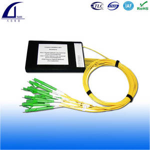 Wholesale splitter cassette box type: ABS Box TYPE1x8 PLC Optic Splitter