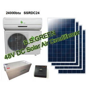 Wholesale solar air conditioner: 48V DC Solar Air Conditioner