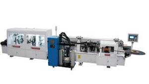 Wholesale abs edge banding: Full Function PUR Hotmelt Glue Automatic Straight and Curve PVC Edge Banding Machine