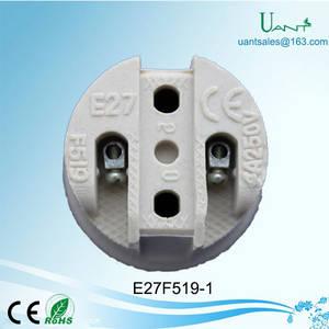 Wholesale lampholder: Wholesale China Factory Lighting Accessories E27 F519 Porcelain Lampholder
