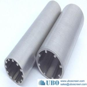 Wholesale stainless steel threaded flange: Johnson Wedge Wire Screen Tubes