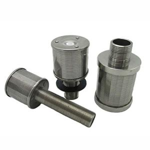 Wholesale ion exchange nozzles: Wedge Wire Long Handle Filter Nozzle, Wedge Wire Water Filter Strainer