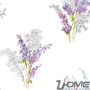 Wholesale latest style: Uhome French Style Latest Design Wallpaper for Home Decorations Manufactrurers PV80031