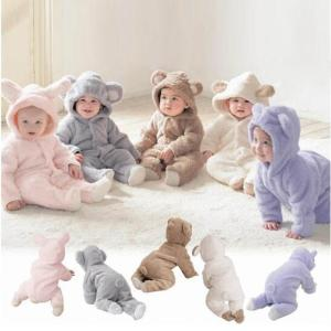 Wholesale baby boy bodysuits: Newborn Baby Infant Boy Girl Romper Hooded Jumpsuit Bodysuit Outfits Clothes New