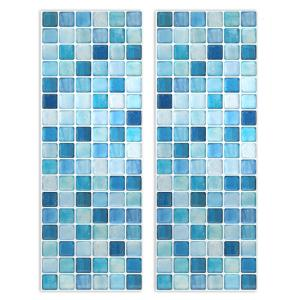Wholesale glass table: BEAUSTILE N.Blue  (Tile Sheet)