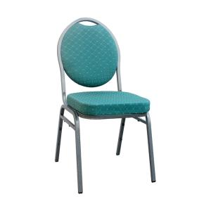 Wholesale fabric chair: Fabric Padded Metal Stackable Multiple Color Options Banquet Chairs