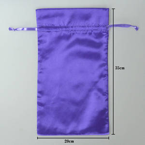 Wholesale Gift Bags: Satin Hair Bags Customize Satin Bags