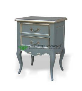Wholesale night stand: Bedside Cabinet French Style Furniture - Night Stand - Bed Room - Indonesia Furniture