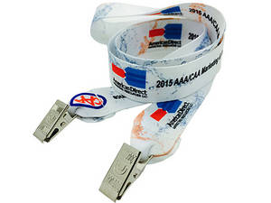 Wholesale heat transfer printing: Double Ended Polyester Lanyard Heat Transfer Printing