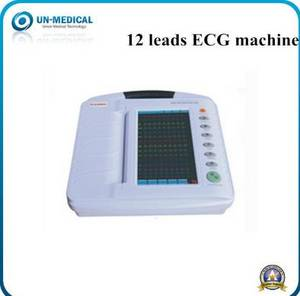 Wholesale portable ekg: 12 Channel Touch Color Screen Portable Digital ECG EKG Machine