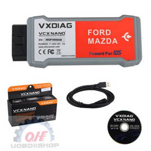 Wholesale mazda software: VXDIAG VCX NANO for Ford/Mazda 2 in 1 with IDS V100.01