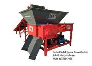 Wholesale garbage paper bag: Solid Waste Crusher, Single Shaft Shredder, One Rotor Crusher