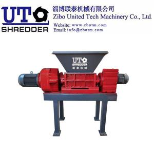 Wholesale casting bandages: Zibo United Tech Machinery Co., Ltd -Double Shaft Shredder Crusher-  Plastic, Metal, Wood, Shredding