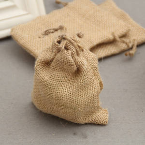 Wholesale Gift Bags: Mini Small Jute Linen Gift Bag Wedding Party Supplier Incense Storage Cosmetic Jewel Accessories Sac