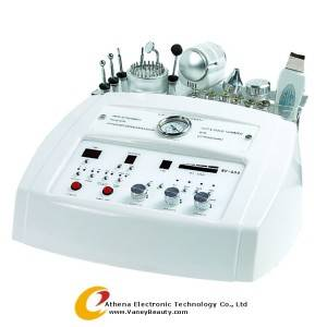 Wholesale Microdermabrasion Machine: NV-666 6 Functions Facial Ultrasound, Photon, Diamond Skin Peel Equipment