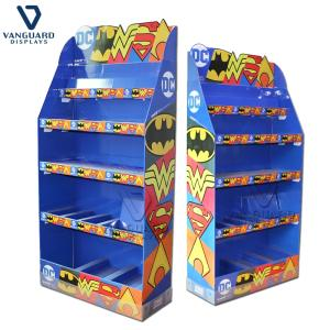 Wholesale Display Racks: Floor Standing Cardboard Display for Supermarket Promotion