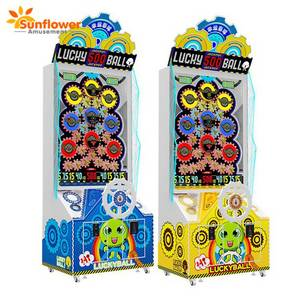 Wholesale game: Coin Operated Lucky Ball Arcade Ticket Redemption Game Machine Original Factory Price