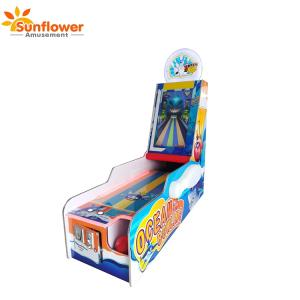 Wholesale video game machine: Amusement Arcade Coin Operated Redemption 1 Player Ocean Bowling Video Game Machine with Ticket Back