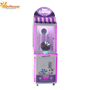 Wholesale capsule vending machine: 2018 Sunflower New Arrival Popular Capsule Toys Vending Game Machine for Sale