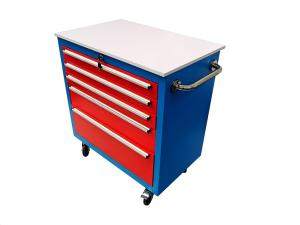 Wholesale metal cabinet: Rolling Metal Storage Tool Cabinets with 5 Drawers