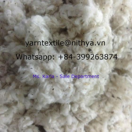Sell Cotton Waste ( Comber Noil, Lickerin)