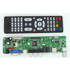 Wholesale lcd controller board: V59 LCD TV Controller Board LA.MV9.P with USB for Playing Movies Pictures