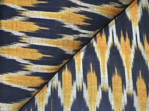 Wholesale indigo blue: Ikat Fabrics
