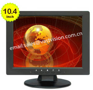 Wholesale 10.4' tft lcd monitor: 10.4 Inch Industrial Control Equipment Display