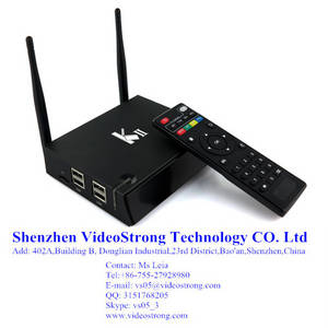 Wholesale kodi: Newest KII 2G/8G Amlogic S812 Smart TV Box Preinstall Kodi 14.2 H.265 BT 4.0 Android 5.1 TV Box